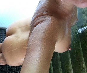 amateur photo Join Me in this Shower?