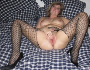 amateur photo Horny Blonde Slut