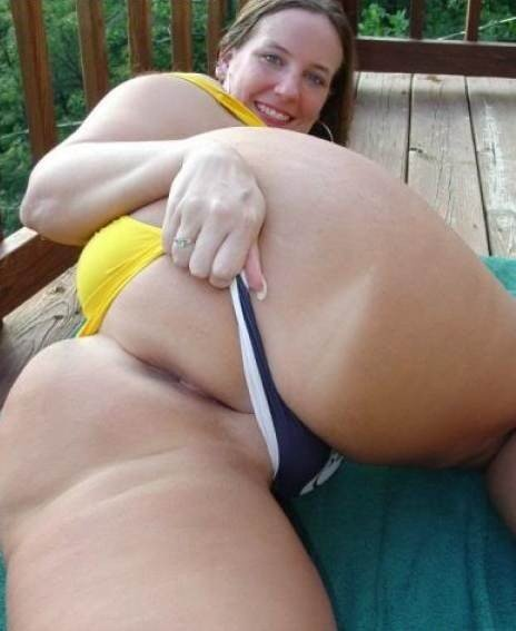 Pawg Ass Hole Porn Photo