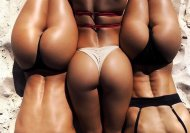 Lovely, smooth rumps