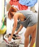 amateur photo Doing some laundry