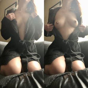 amateur photo [F] Robe reveal on/off