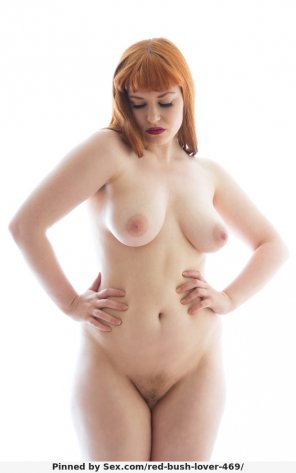 amateur photo natural figure, probably fake ginger