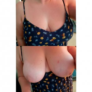amateur photo Love a sundress I can go braless in