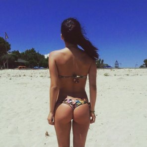 amateur photo Bikini gap.