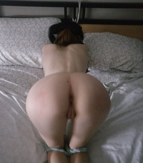 amateur photo Tied and waiting