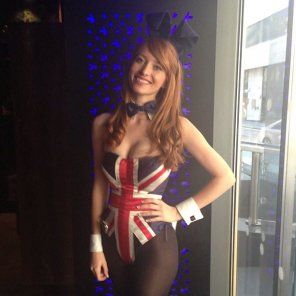 amateur photo Patriotic ginger