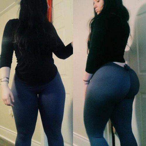 Stretch pants... Porn Photo