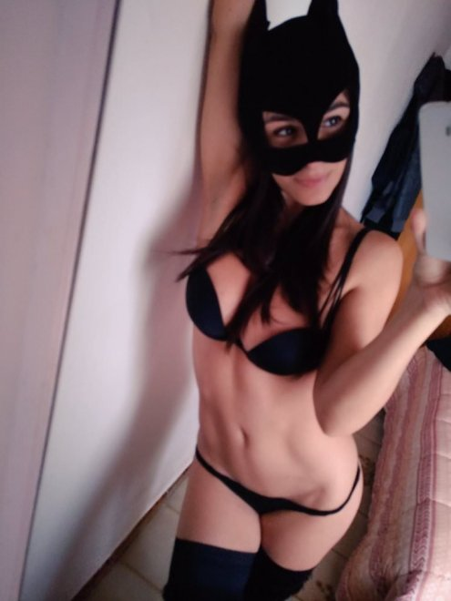 Dreaming o[f] batwoman? Here I am. Porn Photo