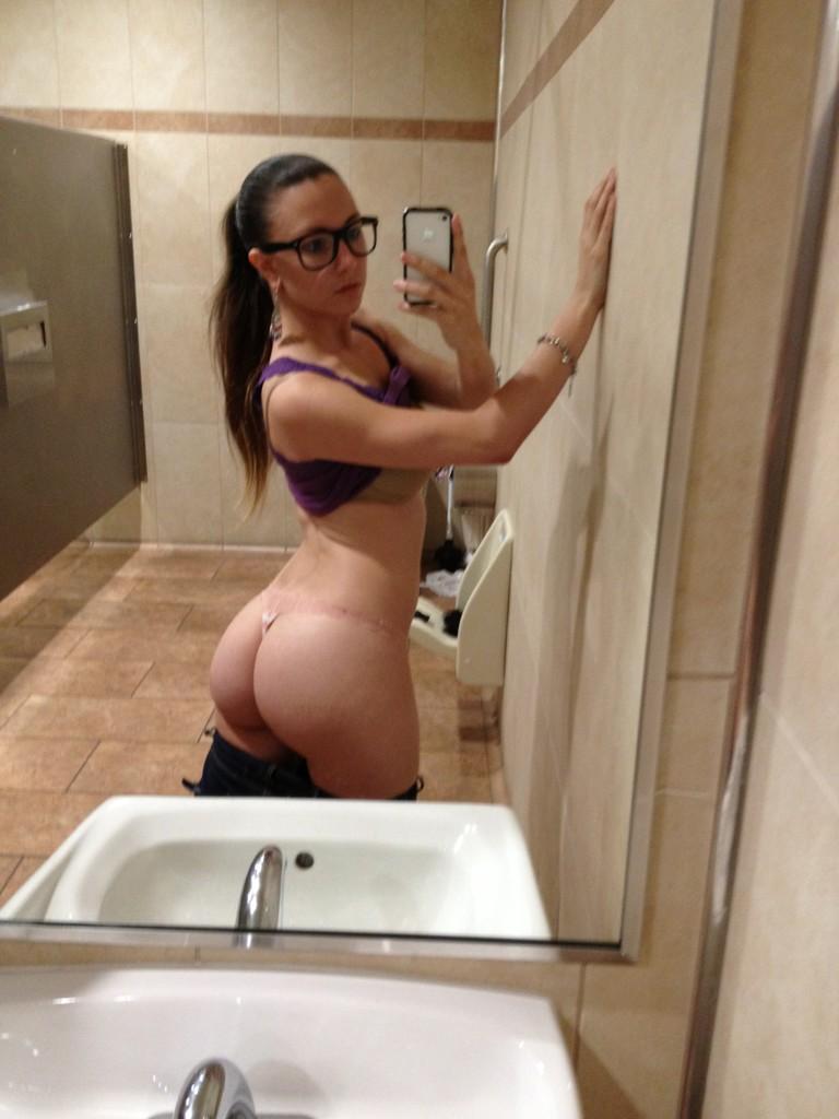 Dyke femdom shared lingerie