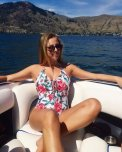 amateur photo Hot Blonde In A One Piece