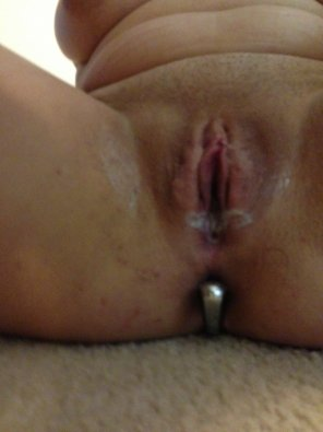 amateur photo Plugged and grooly
