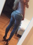amateur photo High heels and jeans