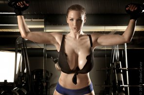 amateur photo Jordan Carver Strong