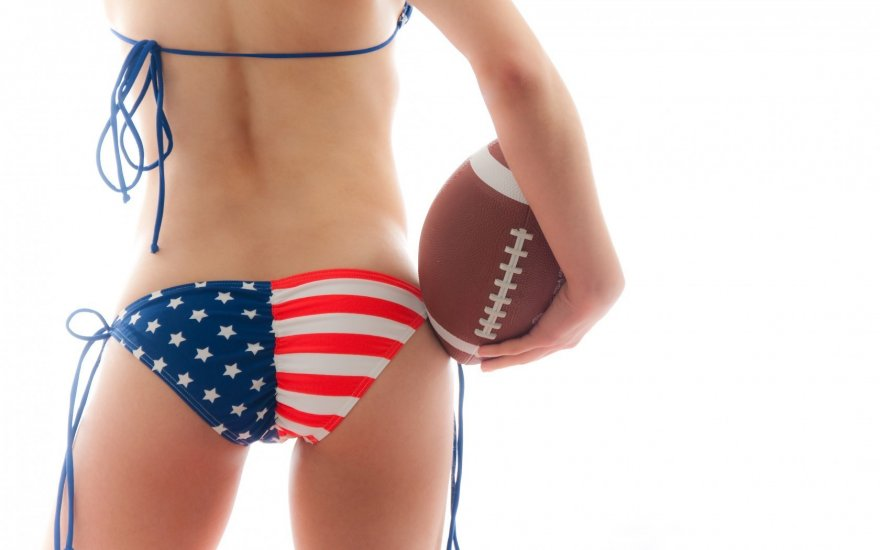 Super Bowl Time Porn Photo