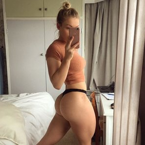 amateur photo Carys Gray perfect ass