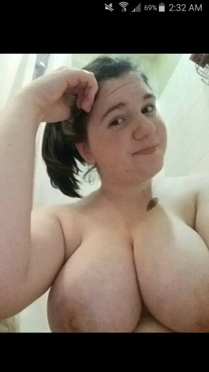 amateur photo How about them titties?