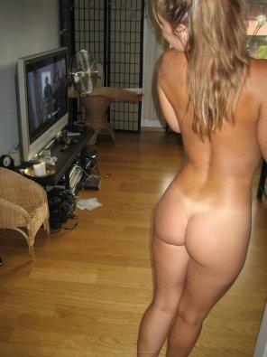 amateur photo On the Hardwood Floor