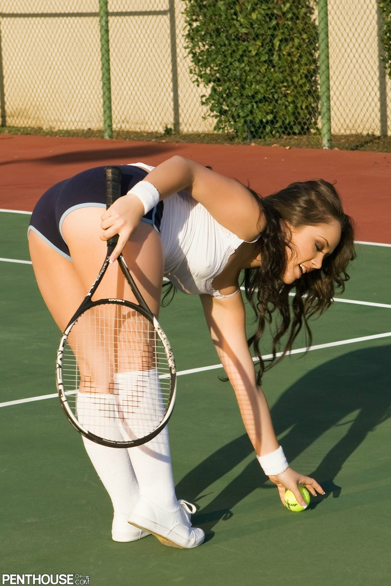 Tennis porn ass all