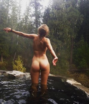 amateur photo Hot spring