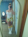 amateur photo High Socks and Short Shorts.