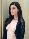 amateur photo Purple streak