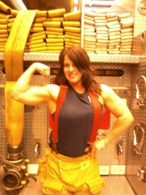 amateur photo Firewoman