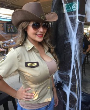 amateur photo Cowgirl