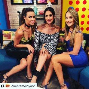 amateur photo Odalys Ramírez, Cynthia Urías & Ximena Córdoba