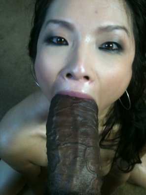 amateur photo Asa Akira Sucking Black Dick