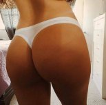 amateur photo In thong
