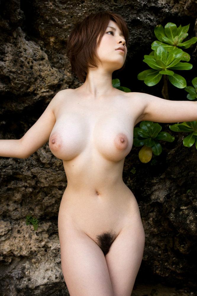 Busty korean woman