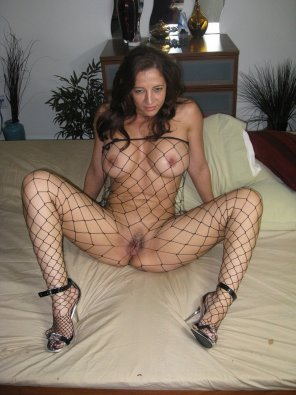 amateur photo Fishnet