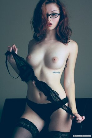 amateur photo Lose the lingerie