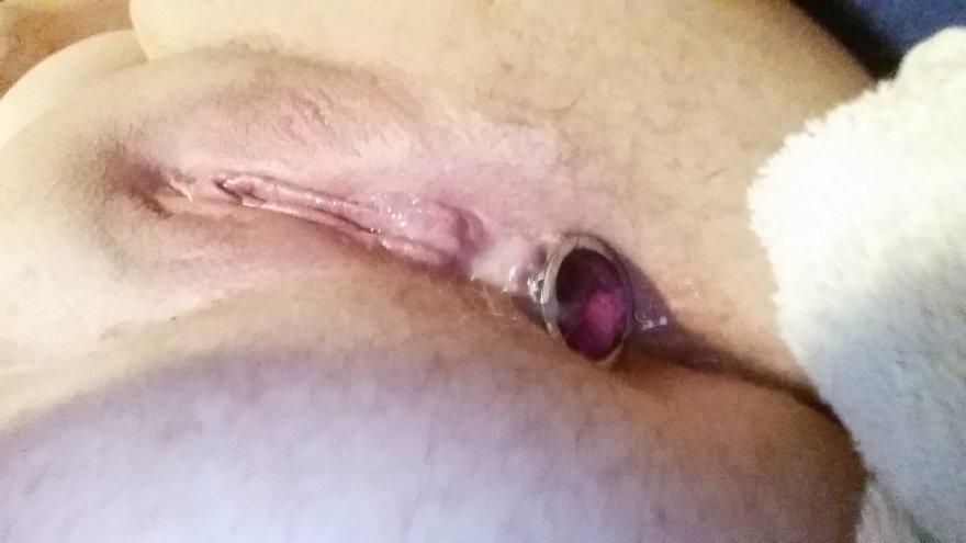 Love my plug so much lately Porno Zdjęcie