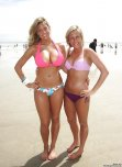 amateur photo Stacked blonde with a great body and her cute friend