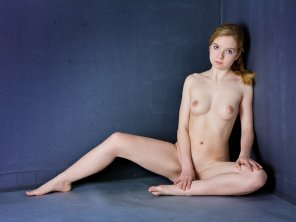 amateur photo Petite cute girl with pale skin posing nude