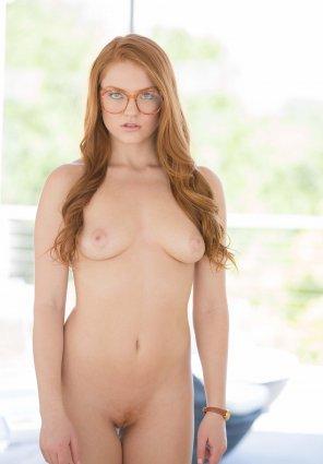 amateur photo Ginger glasses