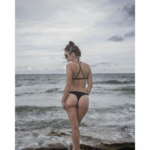 amateur photo Overcast ass