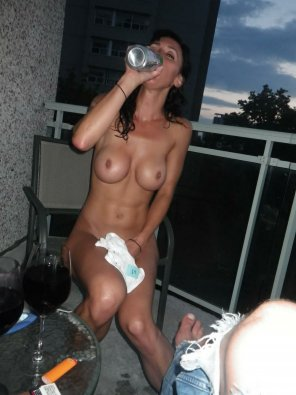 amateur photo Chugging