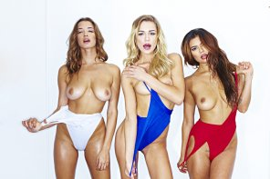 amateur photo Alyssa Arce, Kate Compton, and Danielle Ruiz