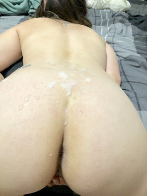 amateur photo Dumped on her ass and back. Want to add?