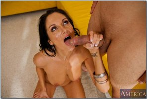 amateur photo Creamed milf. Ava Addams