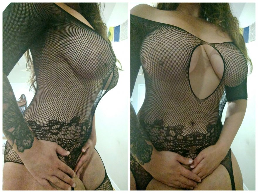 Fishnet for you. Porn Photo