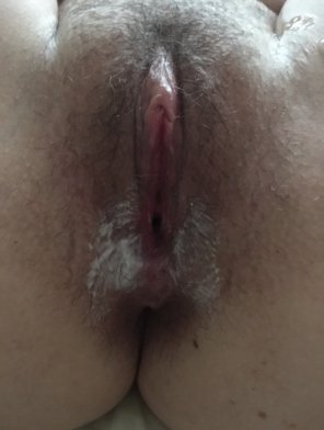 amateur photo You should see the cream on his cock