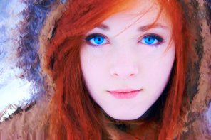 amateur photo Red Head Woman