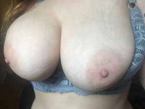 amateur photo My big round titties!