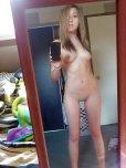 amateur photo Blonde Selfie