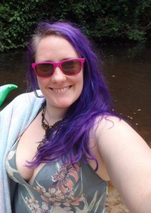 amateur photo Swimsuit bursting
