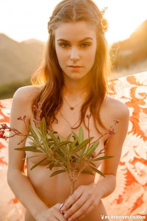 amateur photo Sunset girl